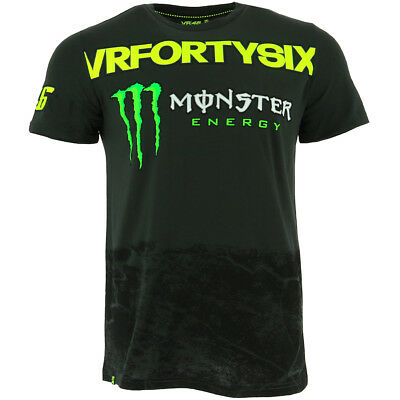 Valentino Rossi VR46 Moto GP Monster Energy T-shirt Official 2017