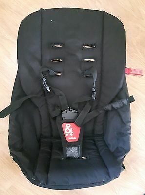 Phil And Teds Black Second Seat for Explorer  Sport