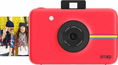 Polaroid Snap Instant Digital Camera - Red - Zink Printing Technology - New