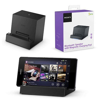 Official Sony Bluetooth Speaker & Magnetic Dock Xperia Z2 Z3 Compact Tablet