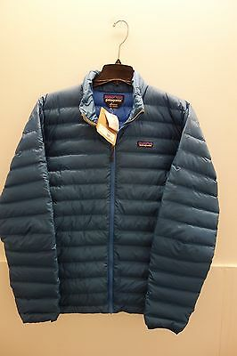 $229 NWT Patagonia Men's Down Sweater Jacket Blue Size L New Model!