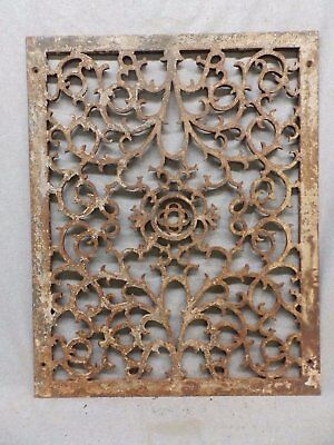 Antique Cold Air Return Grate Register Decorative Vent Old Vintage 19x25 454-17R