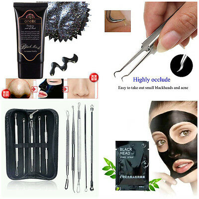 Peel-Off Face Mask Blackhead Remover Pore Strip Pimple Ance Blemish Removal Tool