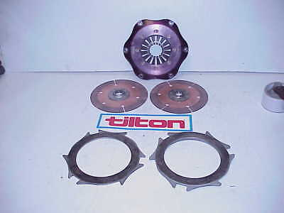 "Quarter Master 7.25"" Double Disc 26 Spline Clutch NASCAR ARCA SCCA Late Model J3"