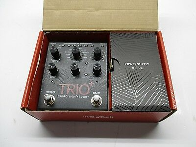 DigiTech TRIO+ Band Creator & Looper Guitar Effects Pedal