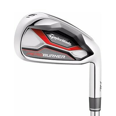 TaylorMade AeroBurner HL Iron Set 4-PW,AW Mens Steel Stiff Flex Right Handed