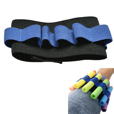 1X Wrist Toy Carrier Bullet Pouch Wrist Soft Nerf Bullet Accessories KidsToyITBC