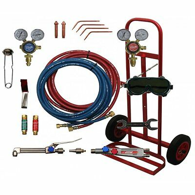Portable Gas Welding / Cutting Kit & Trolley Regulator Spark Arrester SWP 2059