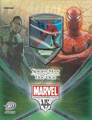 Marvel 2-Spieler Starterset: Spider-Man vs. Dock Ock deutsch Neu & OVP