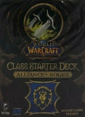 WoW Class Starter Alliance Rogue englisch Neu & OVP