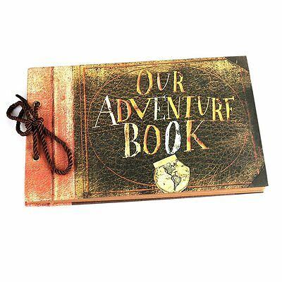 OSUNP Our Adventure Book Photo Album DIY Anniversary Scrapbook Album,Photo Album