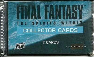 Final Fantasy The Spirit Within Collector Cards englisch Neu & OVP