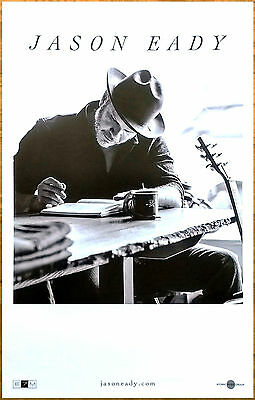 JASON EADY Self-Titled 2017 Ltd Ed New RARE Poster +FREE Country Rock Poster!