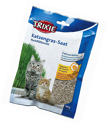 Trixie Bag Of Cat Grass Seeds - Approx. 100 G/Bag (Grow Your Own)