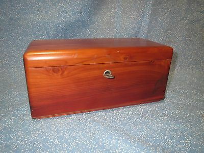Vtg Lane Miniature Cedar Chest w/ Original Key Haupt's Furniture & Rugs Shamokin