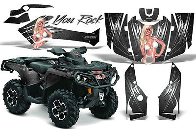 Can-Am Outlander 500 650 800 1000 2013-2016 Graphics Kit Creatorx Decals Yrs