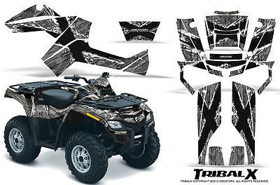 Can-Am Outlander 500 650 800R 1000 Graphics Kit Decals Stickers Txws