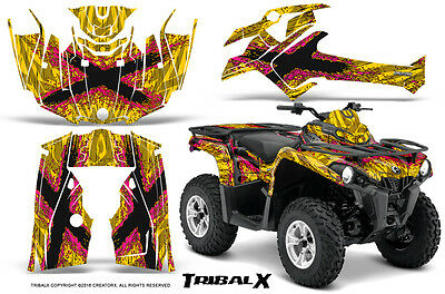 Can-Am Outlander L 2014-2016 Graphics Kit Creatorx Tribalx Py