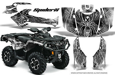 Can-Am Outlander 800 1000 R Xt 12-16 Graphics Kit Creatorx Decals Stickers Sxw