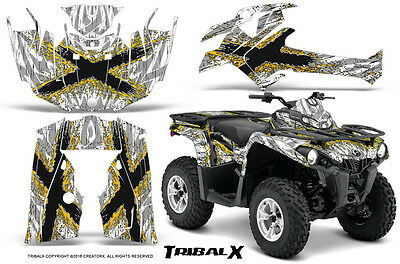 Can-Am Outlander L 2014-2016 Graphics Kit Creatorx Tribalx Yw