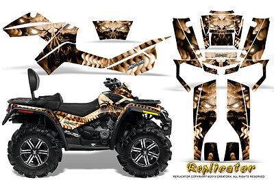 Can-Am Outlander Max 500 650 800R Graphics Kit Creatorx Decals Stickers Rcbr