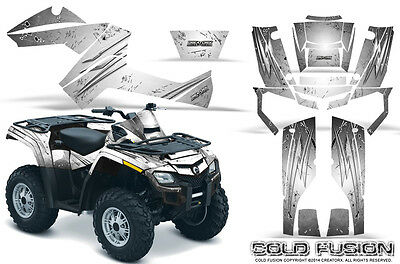 Can-Am Outlander 500 650 800R 1000 Graphics Kit Creatorx Decals Stickers Cfw