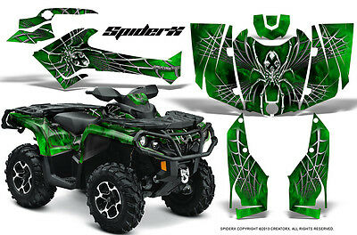 Can-Am Outlander 800 1000 R Xt 12-16 Graphics Kit Creatorx Decals Stickers Sxg