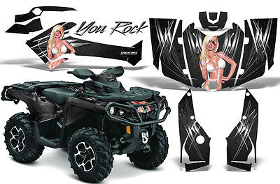 Can-Am Outlander 500 650 800 1000 2013-2016 Graphics Kit Creatorx Decals Yrb