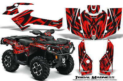 Can-Am Outlander 800 1000 R Xt 12-16 Graphics Kit Creatorx Decals Tmr