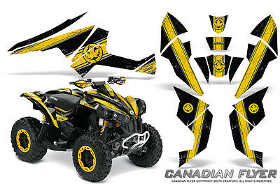 Can-Am Renegade Graphics Kit by CreatorX Decals Stickers CFLYER YB