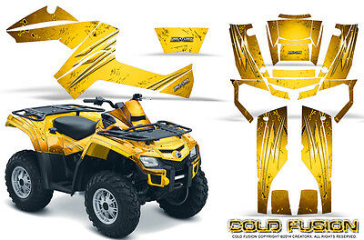 Can-Am Outlander 500 650 800R 1000 Graphics Kit Creatorx Decals Stickers Cfy