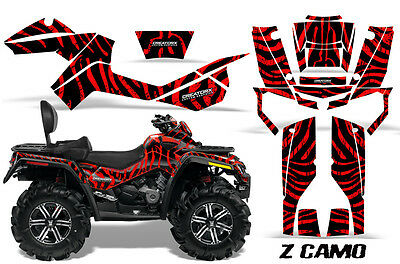 Can-Am Outlander Max 500 650 800R Graphics Kit Creatorx Decals Stickers Zcr