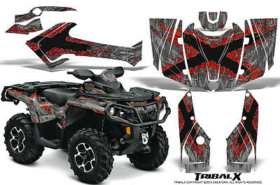 Can-Am Outlander 500 650 800 1000 2013-2016 Graphics Kit Creatorx Tribalx Rs