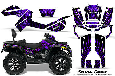 Can-Am Outlander Max 500 650 800R Graphics Kit Creatorx Decals Stickers Scpr