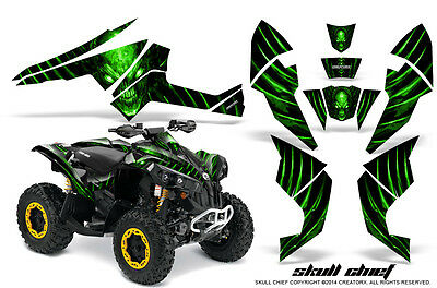 Can-Am Renegade Graphics Kit by CreatorX Decals Stickers SCG