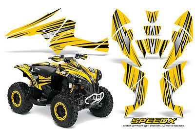 Can-Am Renegade Graphics Kit by CreatorX Decals Stickers SpeedX BY