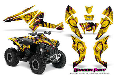 Can-Am Renegade Graphics Kit by CreatorX Decals Stickers DFPY