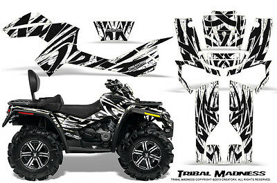 Can-Am Outlander Max 500 650 800R Graphics Kit Creatorx Decals Stickers Tmw