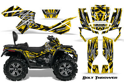 Can-Am Outlander Max 500 650 800R Graphics Kit Decals Stickers Bty
