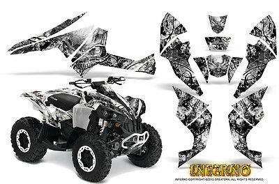 Can-Am Renegade Graphics Kit by CreatorX Decals Stickers INFERNO W