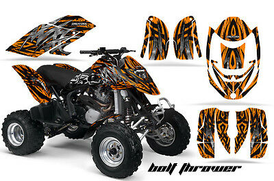 Can-Am Ds650 Bombardier Graphics Kit Ds650X Creatorx Decals Stickers Bto