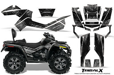 Can-Am Outlander Max 500 650 800R Graphics Kit Creatorx Decals Stickers Txbs