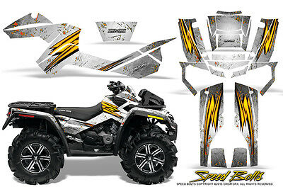 Can-Am Outlander Xmr 500 650 800R Graphics Kit Creatorx Decals Stickers Sbw