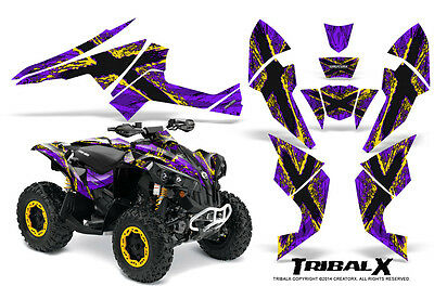 Can-Am Renegade Graphics Kit by CreatorX Decals Stickers TRIBALX YPR