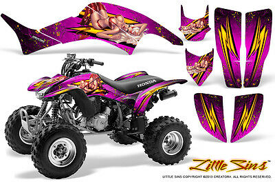 Honda Trx 400 1999-2007 Graphics Kit Creatorx Decals Stickers Lsp