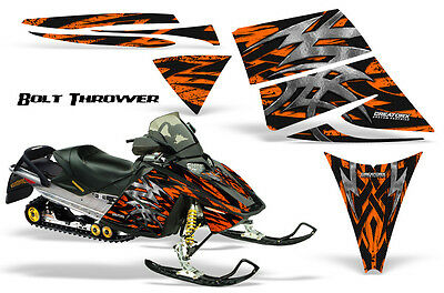 Ski-Doo Rev Mxz 03-09 Snowmobile Sled Graphics Kit Wrap Decals Creatorx Bto