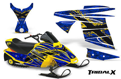 Ski-Doo Mini Z Miniz Snowmobile Sled Graphics Kit Wrap Decals Creatorx Txybl