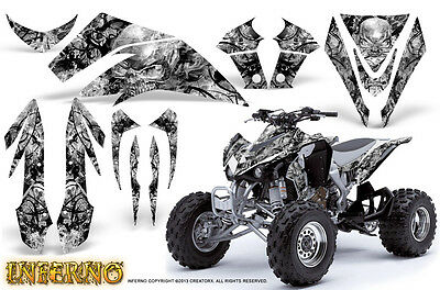 Kawasaki Kfx 450 Graphics Kit Creatorx Decals Stickers Inferno Infw