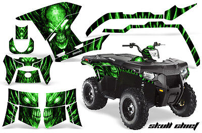 Polaris Sportsman 500 800 2011-2015 Graphics Kit Creatorx Decals Scg