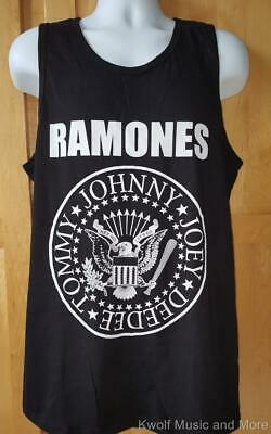 """RAMONES Shirt/Tank Top """"Classic Seal"""" Official/Licensed   M, L, XL, 2XL  NEW"""